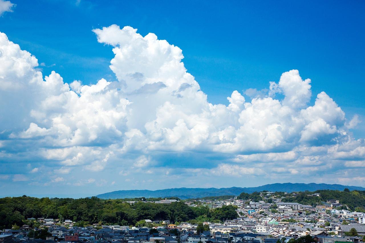 奈良市の町並み